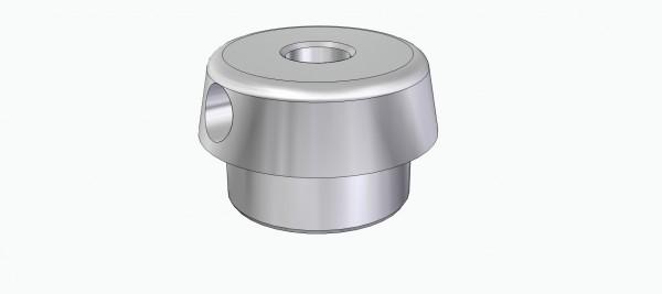 Einpressnabe Standard-Type für Räder ( für 4 mm Welle)