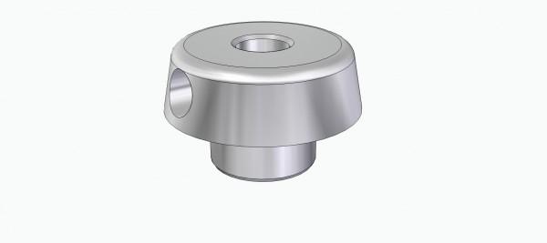 Einpressnabe für Ritzel u. Schnecken (für 4 mm Welle)