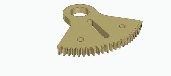 Zahnsektor Z24-90°