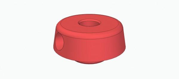 Einpressnabe für Hebel (für 4 mm Welle)